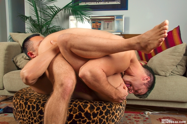 Older-gay-hunks-sling-fuck-Gabriel-Lenfant-Archer-Quan-Men-of-Montreal-05-photo