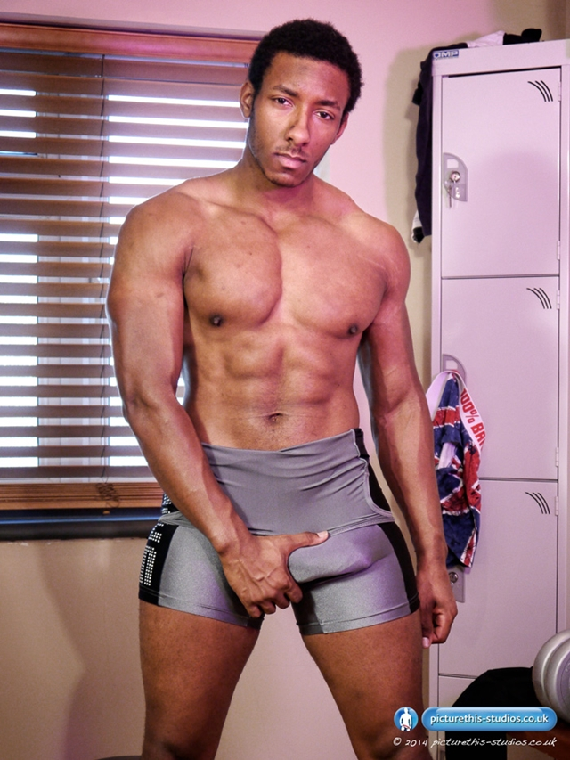 Picture-This-Studios-Freddie-Max-black-beautiful-man-gym-huge-8.5-inches-uncut-cock-skin-tight-lycra-singlet-009-male-tube-red-tube-gallery-photo