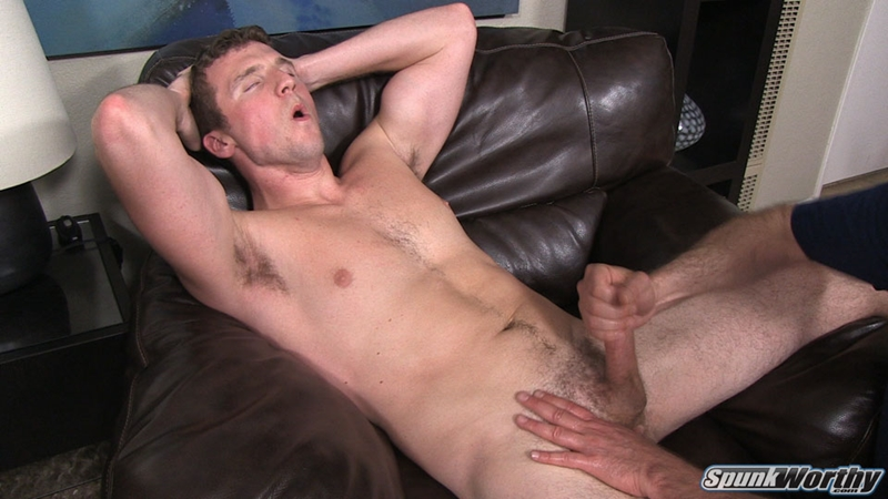Cute guy gets his dick jerked
