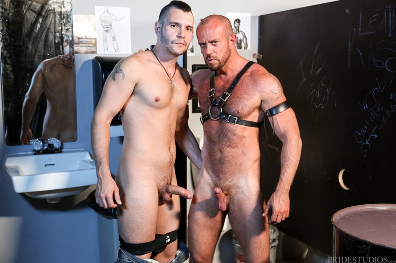 HighPerformanceMen-Big-muscle-daddy-Matt-Stevens-leather-harness-hairy-chest-tattooed-young-punk-Bradley-Boyd-001-tube-video-gay-porn-gallery-sexpics-photo