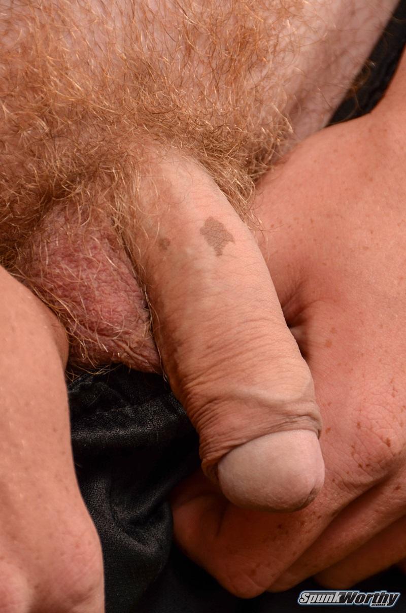 Ginger Pubes Graham Jerks His Huge Uncut Cock To A Big Cumshot