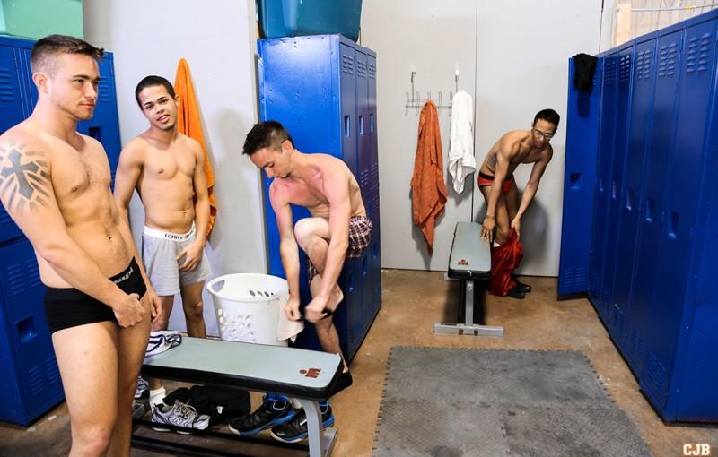 Trent Jackson, Santiago Figueroa, Leo Sweetwood and Jonathan Cordona