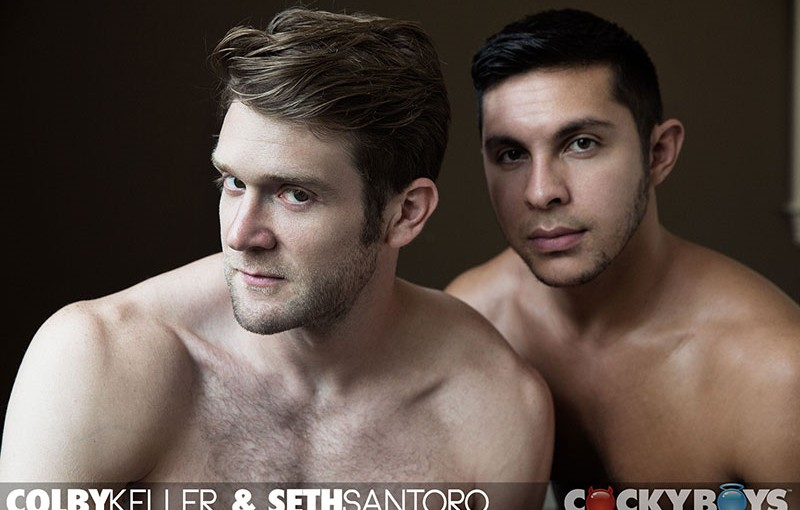 Colby Keller and Seth Santoro
