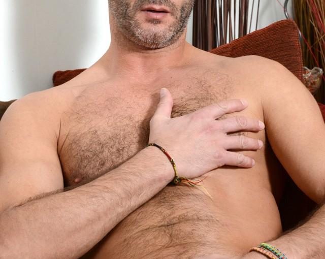 Hairy hunk Antonio Garcia at AlphaMales