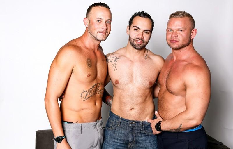 Hot horny threesome Marxel Rios, Alejandro Fusco and Daxton Ryder