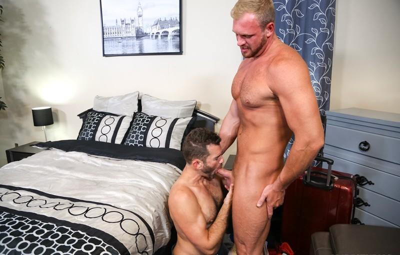 Jake Jennings passionately fucks Josh Peters deep and soft while kissing him