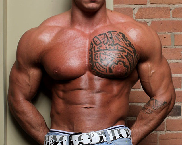 Norman Cox at Muscle Hunks