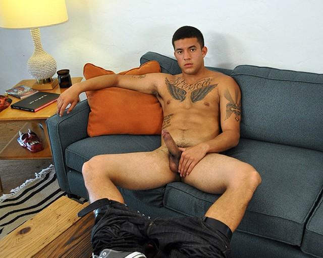 Sexy tattooed latino Joey Rico