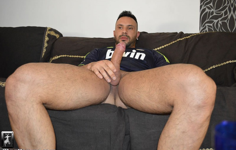 Tattooed muscle studs Antonio Aguilera and Flex fuck