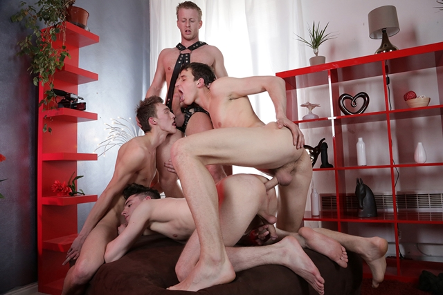 Johny Cruz, Mike James, Benjamin Dunn and Denis Reed