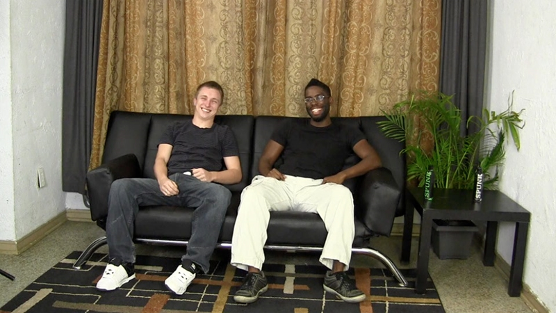 Hung black guy Tyler loves fucking Warren's tight holes
