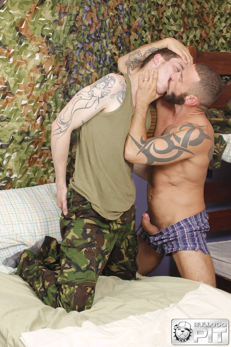 BulldogPit-tattoo-Handsome-Scottish-soldier-AJ-Alexander-muscle-man-Antonio-Miracle-sweaty-ass-fucking-big-muscled-dick-fuck-mate-002-gay-porn-sex-gallery-pics-video-photo
