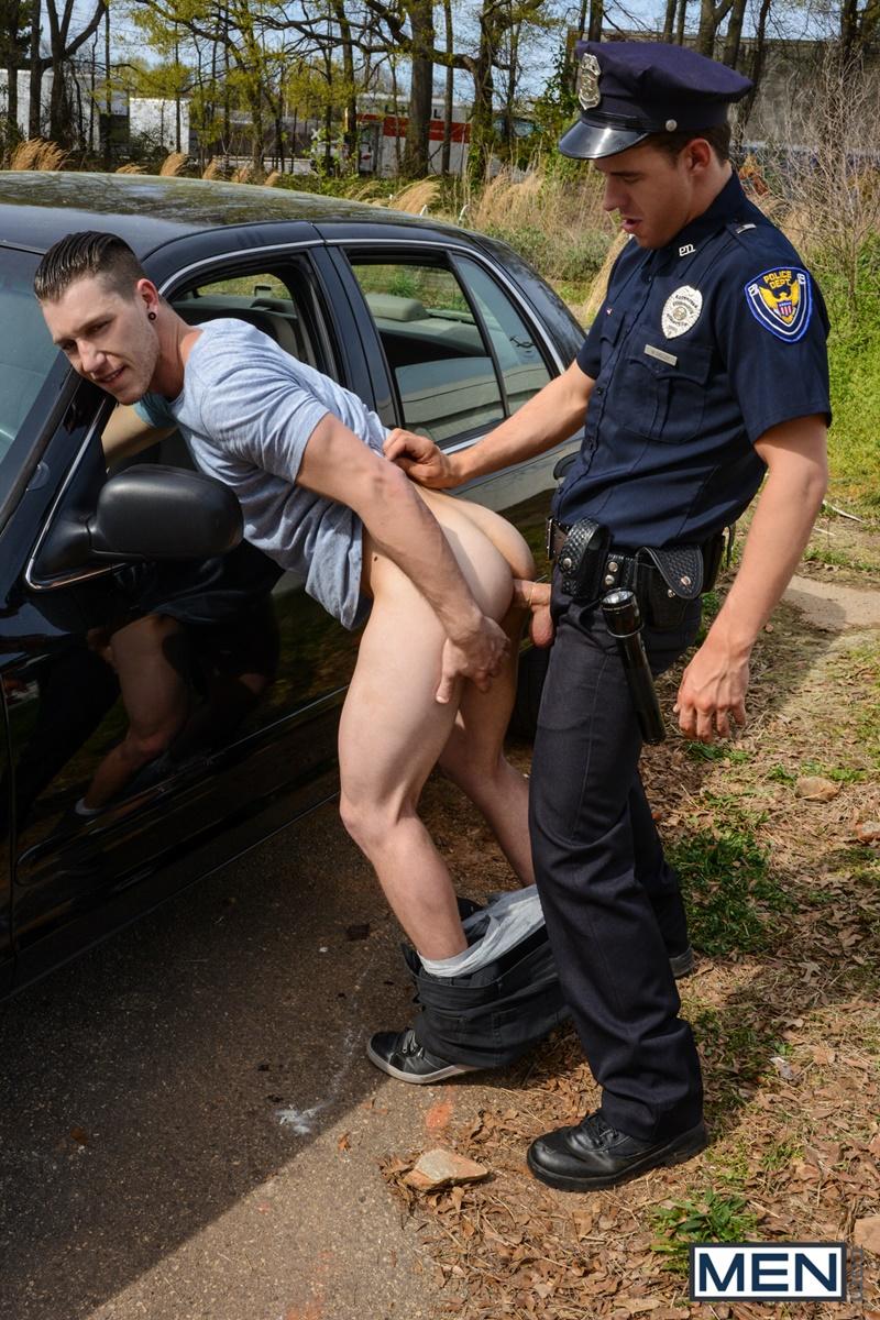 gay muscle cops