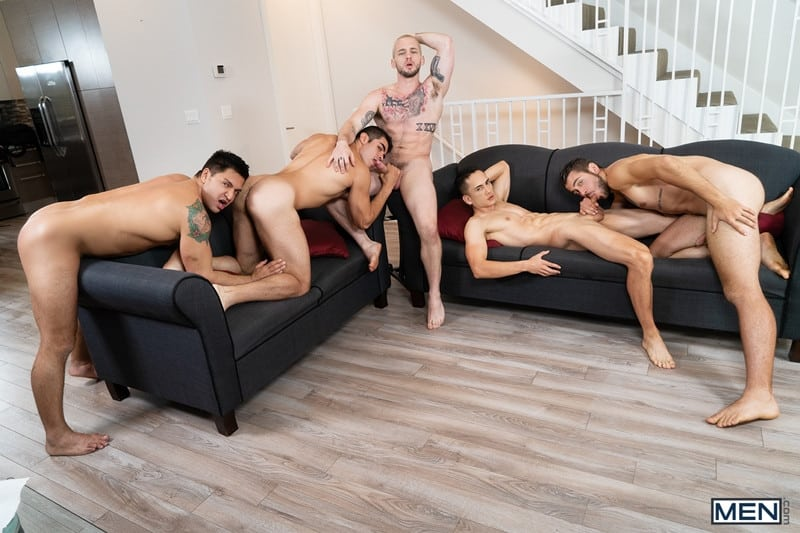 Men for Men Blog Cazden-Hunter-Dante-Colle-Colton-Grey-Dominic-Pacifico-Marcus-Tresor-Gay-group-orgy-Men-002-gay-porn-pictures-gallery Gay group orgy with Cazden Hunter, Dante Colle, Colton Grey, Dominic Pacifico and Marcus Tresor Men