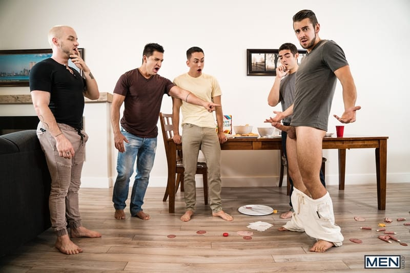 Men for Men Blog Cazden-Hunter-Dante-Colle-Colton-Grey-Dominic-Pacifico-Marcus-Tresor-Gay-group-orgy-Men-008-gay-porn-pictures-gallery Gay group orgy with Cazden Hunter, Dante Colle, Colton Grey, Dominic Pacifico and Marcus Tresor Men