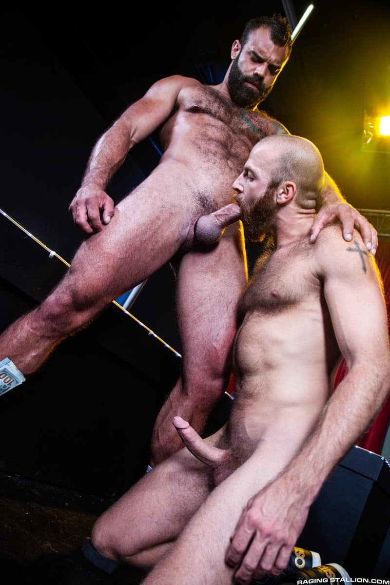 Men for Men Blog James-Stevens-Drake-Masters-hot-tattooed-big-muscle-dudes-cocksucking-huge-throbbing-cock-RagingStallion-013-gay-porn-pictures-gallery James Stevens loves the way Drake Masters' mouth feels wrapped around his huge throbbing cock Raging Stallion