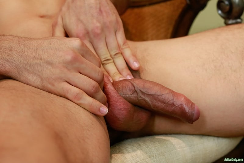 Men for Men Blog Monte-Marcello-Sexy-young-soldier-strokes-big-uncut-dick-foreskin-huge-cum-load-ActiveDuty-006-gay-porn-pics-gallery Sexy young soldier Monte Marcello strokes his big uncut dick playing with his foreskin before shooting a huge load Active Duty
